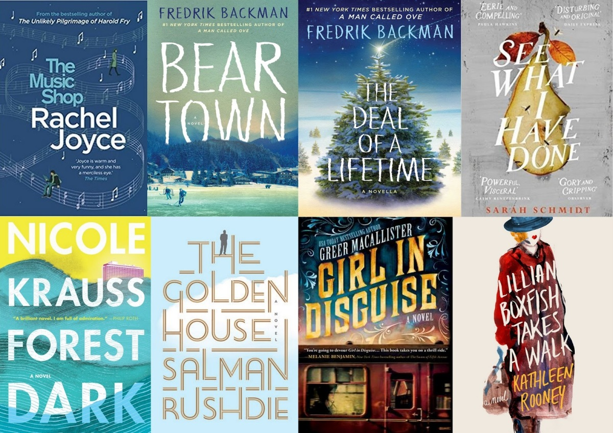 My Top Five (or more) Books of 2017