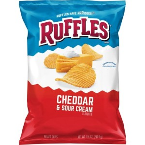 Ruffels Cheddar Cheese Chips