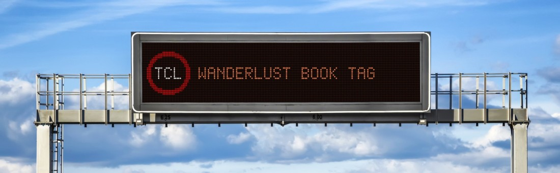 Wanderlust Book Tag Cropped road sign